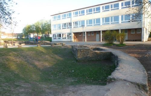 Mauern des Kohortenkastells in Mainhardt